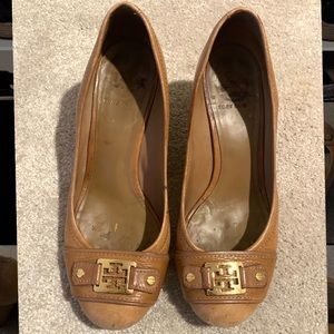 Tory Burch Tan Wedge Heel